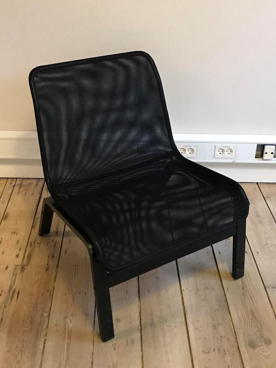 ikea sort stol